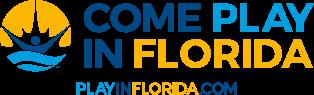 Come Play in Florida logo